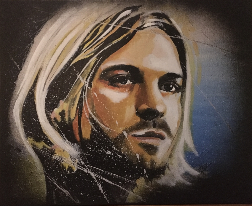 Kurt Cobain by yvancourtet